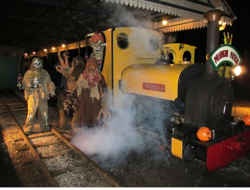 Wales West Light Railway Presents: The Pumpkin Patch Express - October 9th