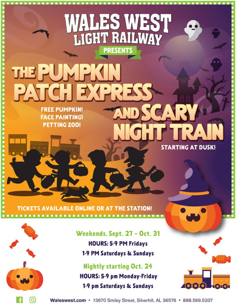Pumpkin Patch Express and Scary Night Train